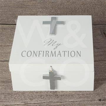 CELEBRATIONS KEEPSAKE - MEMORY BOX - CONFIRMATION
