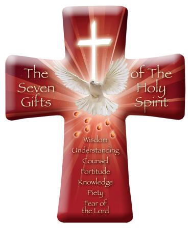 Porcelain Cross Confirmation Symbolic