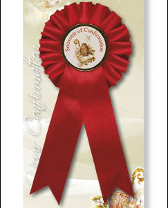 Confirmation Rosette with Picture