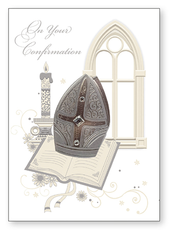 F28101 Confirmation Symbolic Card – 3 Dimensional