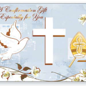 Confirmation Gift Wallet Card - Symbolic