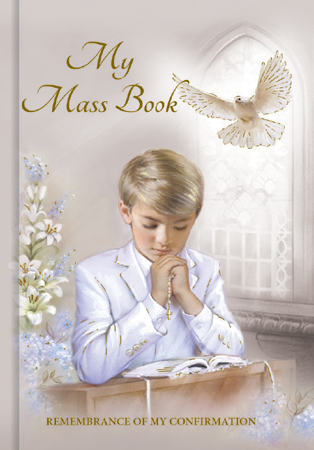 BOY Confirmation Book - Hard Back - Boy