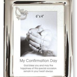 Photo Frame - Silver Finish - Confirmation