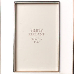 Confirmation Photo Frame - Metal - Silver Finish