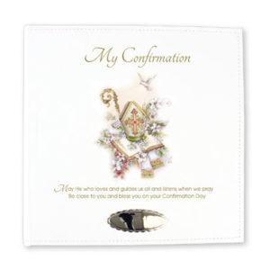 Confirmation Leatherette Photo Album Symbolic
