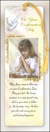 Bookmark - Confirmation Girl