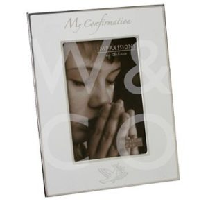 MY CONFIRMATION 4 X 6 Inch PHOTO FRAME