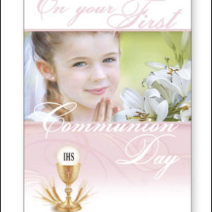 Communion Card Girl