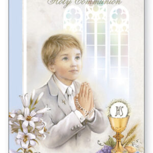 Communion Card Boy