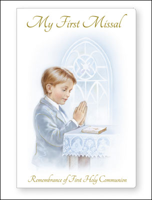 First Communion Book Paper Back Boy