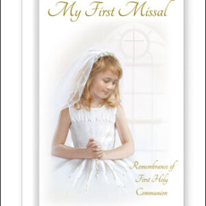 First Communion Book Hard Back Girl
