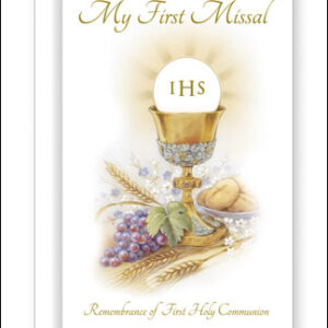 First Communion Book Hard Back Symbolic