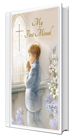 First Communion Book Hardback Boy