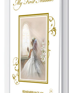 First Communion Book Hardback Girl