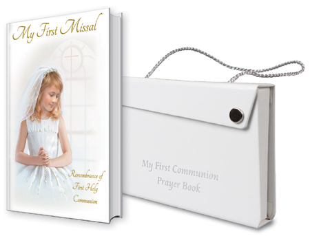 First Communion Girls Missal & Carry Case