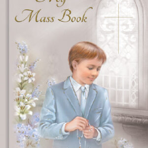 First Communion Book Hard Back Boy