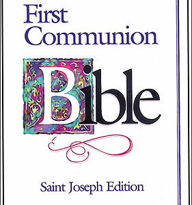First Communion Bible For Boy
