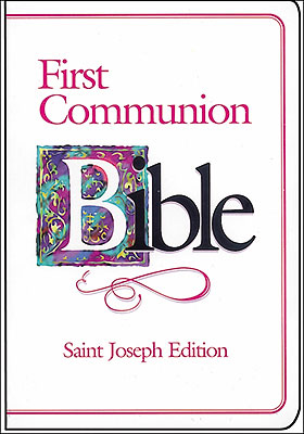 First Communion Bible For Girl
