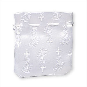 Communion Draw Bag White
