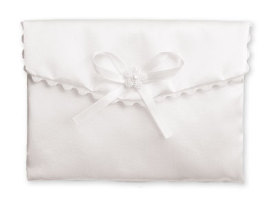 Girls Communion Handbag White